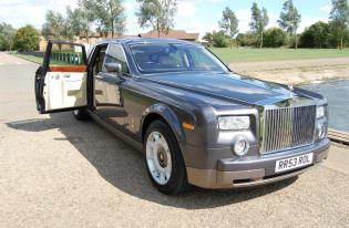 phantom rolls royce hire corby
